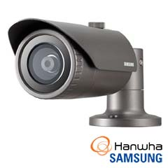 Camera IP 4MP Exterior, IR 30m, POE, Slot Card, lentila 6 - Samsung QNO-7030R