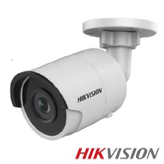 Camera IP 4MP Exterior, IR 30m, POE, Slot Card, lentila 2.8 - HikVision DS-2CD2043G0-I