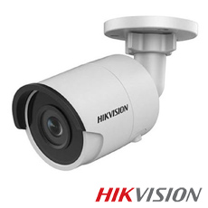 Camera IP 4MP Exterior, IR 30m, POE, Slot Card - HikVision DS-2CD2045FWD-I