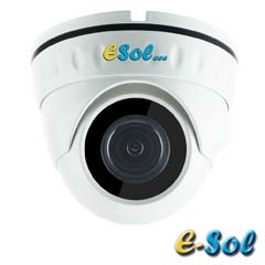 Camera IP 4MP Exterior, IR 30m, POE, Slot Card, lentila 2.8 - e-Sol D400/20