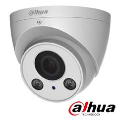 Camera IP 4MP Exterior, IR 60m, POE, Slot Card, Zoom 4x - Dahua IPC-HDW2431R-ZS