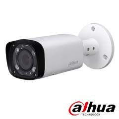 Camera IP 4MP Exterior, IR 60m, POE, Slot Card, Zoom 5x - Dahua IPC-HFW2431R-ZS-IRE6