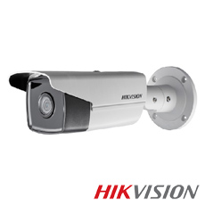 Camera IP 8MP Exterior, IR 50m, POE, Slot Card, lentila 2.8 - HikVision DS-2CD2T83G0-I5