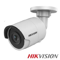 Camera IP 8MP Exterior, IR 30m, POE, Slot Card, lentila 2.8mm - HikVision DS-2CD2083G0-I