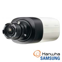 Camera IP Box 3Mp, Interior, Microfon, lentila neinclusa, POE, Card - Samsung SNB-7004