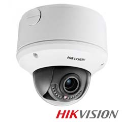 Camera IP Dome 1.3M exterior, POE, IR 30m, Slot card, Zoom 4x- HikVision DS-2CD4312FWD-IZS