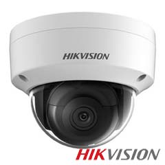 Camera IP Dome 5MP Exterior, POE, Slot Card, IR 30m - HikVision DS-2CD2155FWD-IS