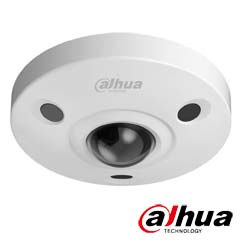 Camera IP Fisheye 6 MP, Exterior, IR 10m, Unghi 185°, POE, Slot card - Dahua IPC-EBW8600