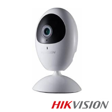 Camera IP 1MP Interior, IR 10m, Microfon, Slot Card, WiFi, 2.8mm - HikVision DS-2CV2U01EFD-IW