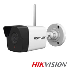 Camera IP 2MP Exterior, IR 30m, Microfon, WiFi, Slot Card, lentila 2.8 - HikVision DS-2CV1021G0-IDW1