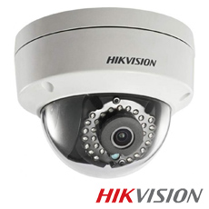 Camera IP 2MP Exterior, IR 30m, POE, lentila 2.8 - HikVision DS-2CD1123G0-I
