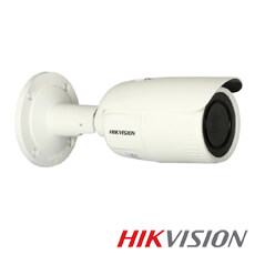 Camera IP 2MP Exterior, IR 30m, POE, Slot Card, Zoom 4x - HikVision DS-2CD1623G0-IZ