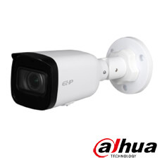Camera IP 2MP Exterior, IR 40m, POE, Slot Card, Zoom 4x - Dahua IPC-B2B20-ZS