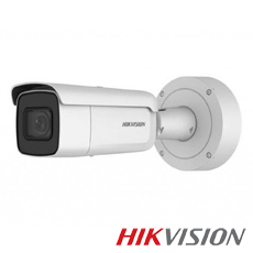 Camera IP 6MP Exterior, IR 50m, POE, Slot Card, Zoom 4x - HikVision DS-2CD2663G0-IZS
