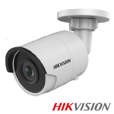 Camera IP 6MP Exterior, IR 30m, POE, Slot Card, lentila 2.8 - HikVision DS-2CD2063G0-I