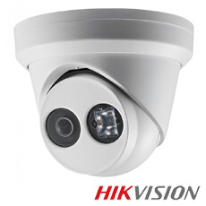 Camera IP 6MP Exterior, IR 30m, POE, Slot Card, lentila 2.8 - HikVision DS-2CD2363G0-I