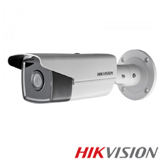Camera IP 8MP Exterior, IR 80m, POE, Slot Card, lentila 4 - HikVision DS-2CD2T83G0-I8