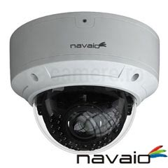 Camera IP 3MP, Dome, Exterior, IR 30m, POE, Slot card, Microfon - Navaio NGC-7233V