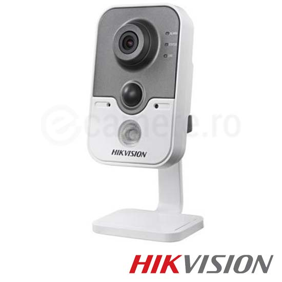 Camera IP Wireless, Interior, 1 MP, IR 10m, Slot Card - HikVision DS-2CD2410F-IW
