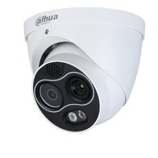 Camera termica IP , 4MP, Exterior, Lentila 4mm, IR 30m, PoE, Slot Card - Dahua TPC-DF1241-D3F4