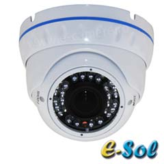 Camera Dome 2MP, Zoom Optic 4x, HDCVI, HDTVI, AHD si Analogica, IR 30m - e-Sol ESD-40