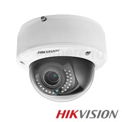 Camera IP Dome 2 MP, Exterior, IR 30m, POE, Slot Card - HikVision DS-2CD4120F-IZ