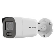 Camera IP 8MP, Exterior, Card, PoE, Lumina Alba 40m, 2.8mm, Accusense - HikVision DS-2CD2087G2-LU
