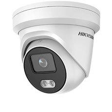 Camera IP 4MP, Exterior, LED 30m, ColorVu, PoE, Card, Microfon, 4mm - HikVision DS-2CD2347G1-LU4