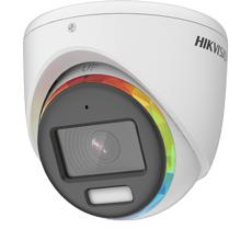 Camera ColorVu 2MP, Exterior, Lumina Alba 20m, Microfon, 3.6mm - HikVision DS-2CE70DF8T-MFSLN