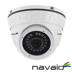 Camera Dome HDCVI, HDTVI, AHD, 2 MP, IR 20m, lentila 2.8 - Navaio NAC-HD-222F2.8