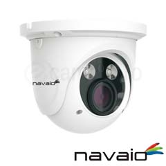 Camera IP 4MP, Dome, exterior, IR 30m, POE, Slot card, Zoom 4x - Navaio NGC-7246VAZ