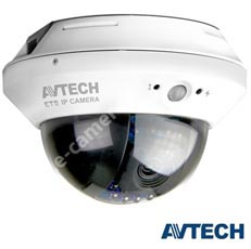 Camera Dome IP, Exterior 1 MP, IR 10m, lentila 3.8 - AVTech AVM328