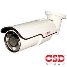 Camera IP Bullet 2 MP, IR 50m, Varifocala - CSD CSD-IP-MI208V58