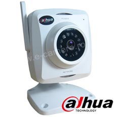 Camera IP 1000 linii, Interior, IR 10m, lentila 6.0, Slot Card, Microfon - Dahua IPC-A6