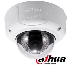 Camera IP Dome exterior 3MP, Varifocala, Slot card, POE, IR 20m - Dahua IPC-HDBW3300P