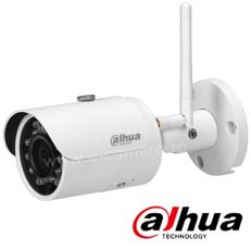 Camera IP Wireless de Exterior, 3Mp, IR 30m, lentila 3.6mm, IP67 - Dahua IPC-HFW1320S-W