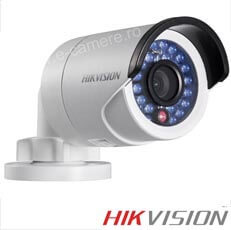 Camera IP, Exterior, 1 MP, IR 30m, POE - HikVision DS-2CD2012-I