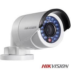 Camera IP Bullet, Exterior, 2 MP, IR 30m, POE, Slot Card - HikVision DS-2CD2020F-I