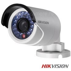 Camera IP Bullet, Exterior, 2 MP, IR 30m, POE - HikVision DS-2CD2022WD-I