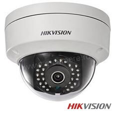 Camera IP Dome 5 MP Exterior IR 30m, POE, Slot card, lentila 4.0 - HikVision DS-2CD2152F-I