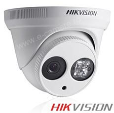 Camera IP Dome, Exterior, 4 MP, IR 30m, POE - HikVision DS-2CD2342WD-I