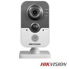 Camera IP Wireless, Interior, 3 MP, IR 10m, Microfon, Slot Card - HikVision DS-2CD2432F-IW