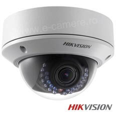 Camera IP Dome 2MP, Exterior, Varifocala, IR 30m, POE, Slot Card - HikVision DS-2CD2720F-I