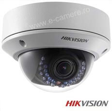 Camera IP Dome 3 MP, Exterior, IR 30m, POE, Varifocala - HikVision DS-2CD2732F-I
