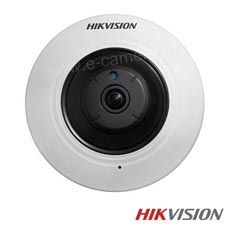 Camera IP 4 MP, Fisheye, Exterior, POE, Slot Card, IR 8m - HikVision DS-2CD2942F-IS