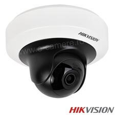 Camera IP 4MP Rotativa, Exterior, IR 10m, POE, Slot Card - HikVision DS-2CD2F42FWD-IS