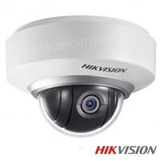 Camera IP 2MP, Interior, Zoom 2x, Wireless, IR 30m, POE, Card - HikVision DS-2DE2202-DE3/W