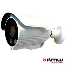 Camera IP 1MP Exterior, IR 40m, POE, Varifocala - KMW KM-9100IP