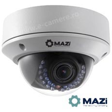 Camera IP 4MP, Dome, exterior, IR 30m, varifocala - Mazi IDH-23VR