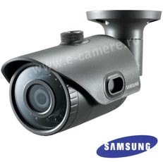 Camera IP 2MP, Exterior, IR 20m, POE, Slot Card, lentila 3.6- Samsung SNO-L6013R